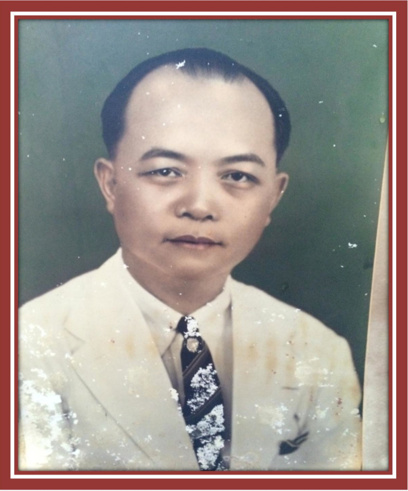 An early portrait of my grandfather, Loh Mee Loon