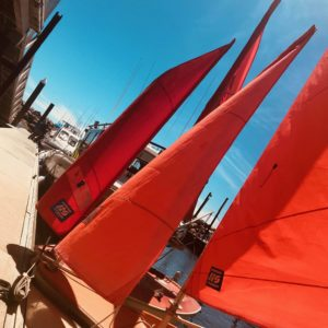 Sailboats in Adelaide