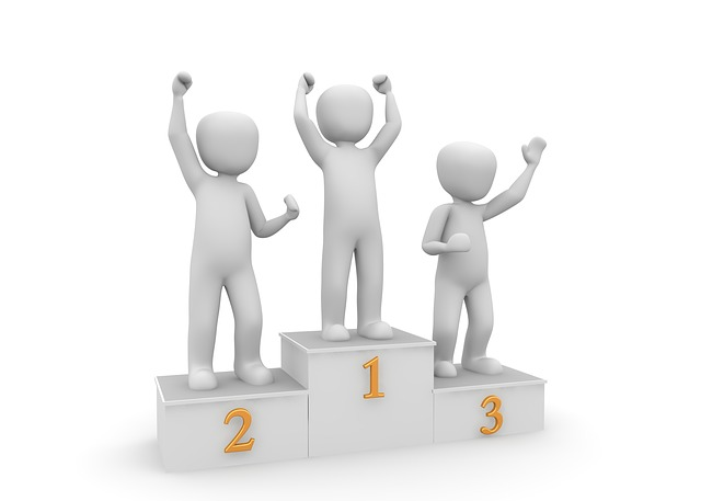 Podium Goal: First, second or third place