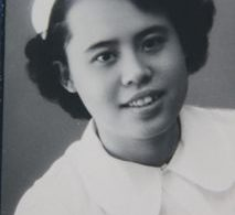 Black and White photo of nurse