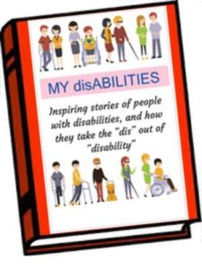 MY disABILITIES mock-up book cover